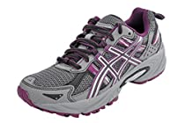 ASICS Women's GEL-Venture 5 Running Shoe (5 B(M) US, Frost Gray/Gray/Silver/Magenta)