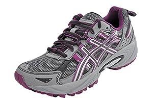 ASICS Women's GEL-Venture 5 Running Shoe (8.5 B(M) US, Frost Gray/Gray/Silver/Magenta)