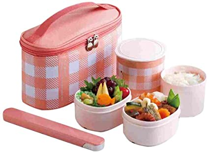 amazon canada zojirushi mini bento stainless lunch jar coral pink. Black Bedroom Furniture Sets. Home Design Ideas