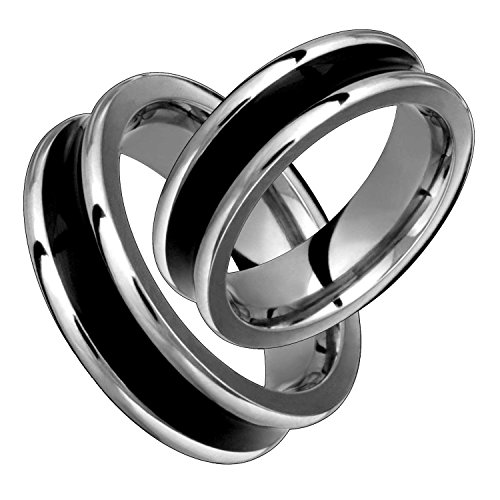Xaris-6mm-wide-black-concave-stunning-titanium-wedding-band-comfort-fit-polished-ring-set-for-him-her