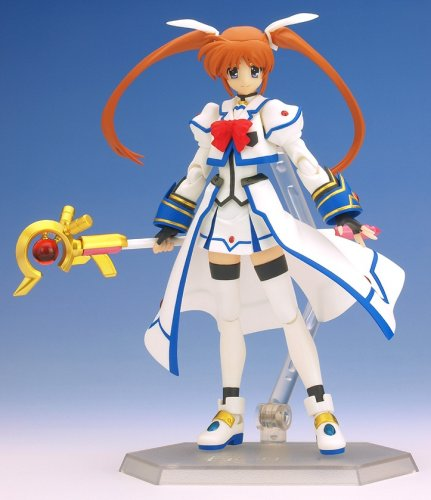 Magical Girl Lyrical Nanoha Strikers: Nanoha Figma Action Figure
