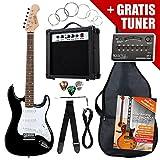 Rocktile ST-Pack Komplettset E-Gitarre Schwarz