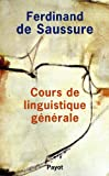 img - for Cours de linguistique g n rale book / textbook / text book