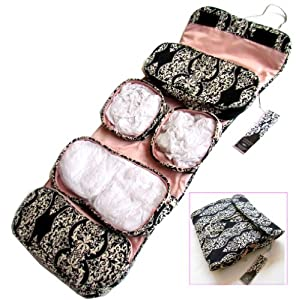 Toiletry Cosmetics Travel Bag For Women With Hanger
