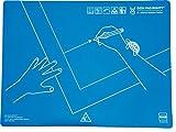 Schreibtisch-Auflage-fr-Rechtshnder-Kunststoff