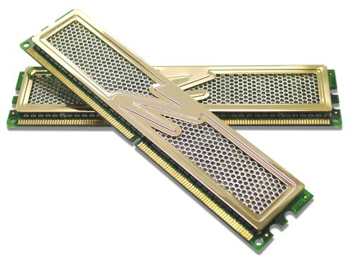 OCZ 2 GB DDR2 PC2-5400 Gold GX XTC Dual Channel PC Memory (Pe Design 6 Upgrade compare prices)