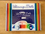 VW Beetle Retro Stripey Glass Photo Frame 4