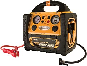 Wagan 400-Watt Power Dome Jump Starter with Built-In Air Compressor and LED Utility Light by Wagan