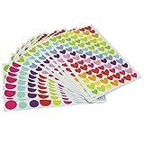 12 pcs Multicolor DIY Stickers Albums Photo Journal Scrapbook Decorative Tool