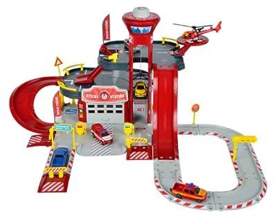 Majorette 212050015 - Creatix Rescue Station, Rettungsstation, Maße: 72 x 72 x 35cm