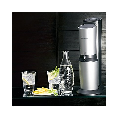 SodaStream Crystal Sparkling Water Maker, Quick and Easy, Customized Combination Level, Automatic Access Gas Mechanism, Perfect to create own Soda and Energy Drinks (Soda Stream Refill Carbonator compare prices)