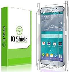 IQ Shield LiQuidSkin - Samsung Galaxy Note 5 Screen Protector + Full Body (Front & Back) with Lifetime Warranty - HD Ultra Clear Film - Premium Guard - Smooth / Self-Healing / Bubble-Free Shield