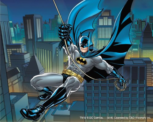 Licenses Products DC Comics Batman Swinging Sticker - 1