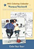 Norman Rockwell 2011 Coloring Calendar (0764952420) by Norman Rockwell
