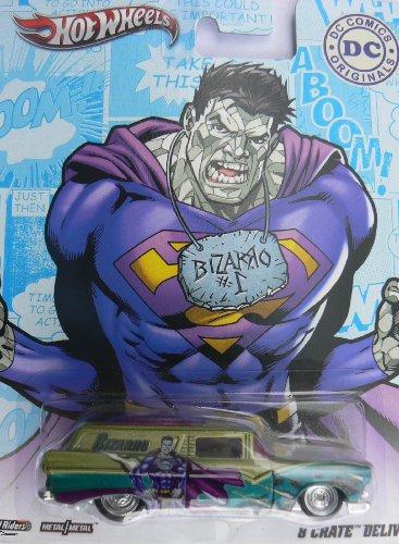 Hot Wheels Real Riders DC Comics Orginals Bizarro 8 Crate Delivery