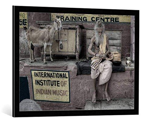 image-encadree-nimit-nigam-international-institute-of-indian-music-impression-dart-decorative-en-cad