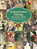 "Toulouse-Lautrec Paintings Giftwrap Paper: Two Sheets 18"" x 24"" (46cm x 61cm) with 3 Matching Gift Cards (Dover Giftwrap) (048642412X) by Toulouse-Lautrec, Henri de"