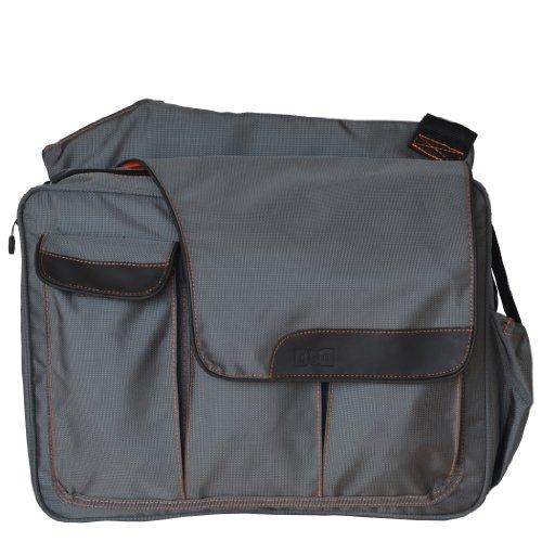 Diaper Dude Messenger Ii Diaper Bag - Grey
