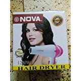 Nova 1200w Hair Dryer With Hot And Cool Mutifunction