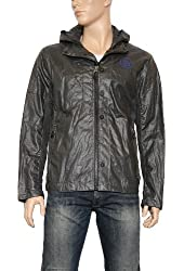 Men's G-Star Raw Mitch Airforce Merlin Canvas Jacket in Night