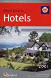 img - for Hotels in England 2001 (Where to stay in England) book / textbook / text book