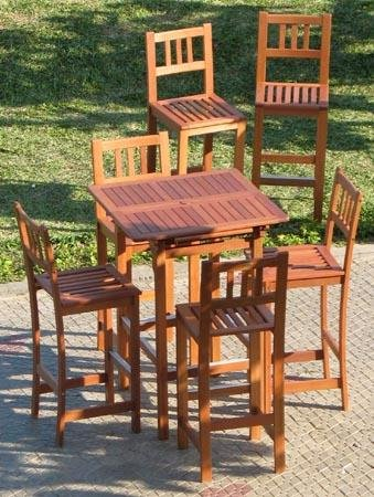 patio seating patio chairs patio bar set. Black Bedroom Furniture Sets. Home Design Ideas