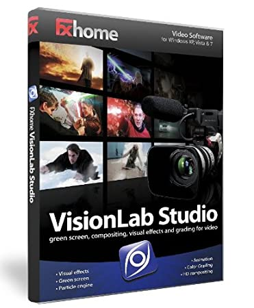 FXhome Ltd VisionLab Studio Advanced Visual Effects, Green Screen Compositing and Digital Grading, for Mac & Windows
