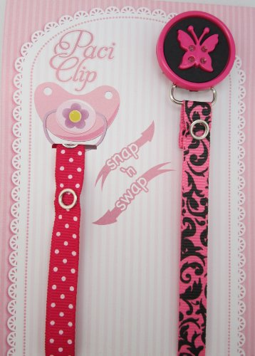 Ribbon Pacifier Clip