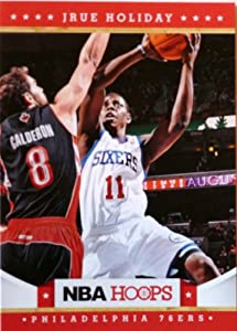 2012-13 Panini Hoops #24 Jrue Holiday Trading Card in a Protective Case -... by Hoops