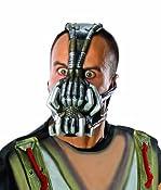 Amazon.com: Rubie's Costume Co Batman Dark Knight Rises Three-Fourth Bane Mask, Multi-Colored, One Size: Clothing