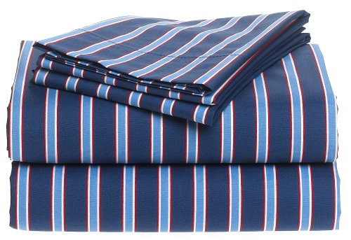 Tommy Hilfiger 200-Thread-Count Printed Sheet Set