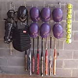 Dugout Organizer Rack - Baseball - Baseball by Kaspar Wire Works