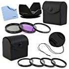 BIRUGEAR Professional 52mm 7pc Filters Lens Accessory Kit for Pentax K-500 K-50 K-30 K-5 IIs K-2000 DSLR Camera which use DA L 18-55mm f3.5-5.6 and 50-200mm Lens Kit [includes: 52mm 7pc Filters + Lens hood + Lens Cap + Cloth]