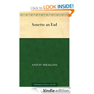 Sonette an Ead (German Edition) Anton Wildgans