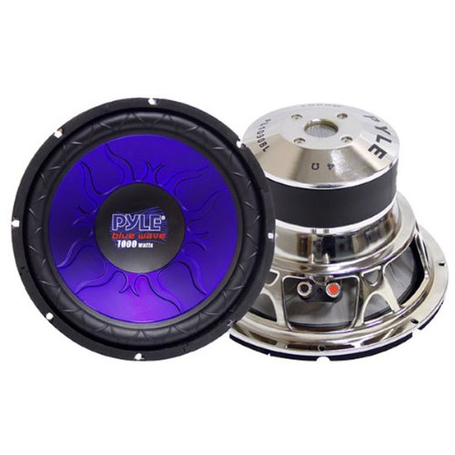 "Brand New Pyle Blue Wave Series High-Powered Subwoofer - 10"", 1000W Max"
