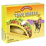 Little Bear Yellow Taco Shells, 5.5-Ounce Boxes (Pack of 12)