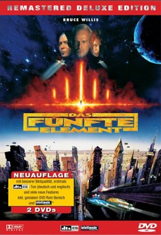 Das fünfte Element - Remastered Deluxe Edition [Deluxe Edition] [2 DVDs] [Deluxe Edition]