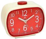 Infinity Instruments That 70's Clock - Cream/Red Alarm Clock