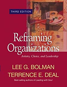 "Cover of ""Reframing Organizations: Artist..."