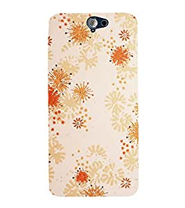 printtech Abstract Design Back Case Cover for HTC One A9