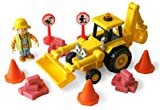 Bob the Builder - Friction Powered Scoop Playset - 10 Piece