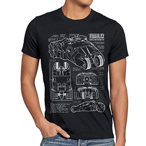 style3-bat-tumbler-t-shirt-da-uomo-cianografia-gotham-dimensione2xlcolorenero