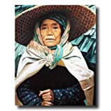 Japanese Oriental Asian Lady Home Decor Wall Picture 16x20 Art Print