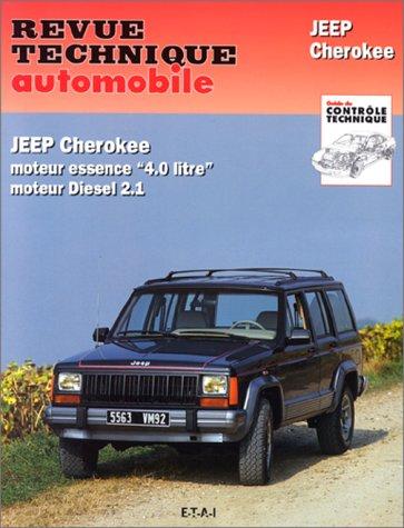 revue technique automobile cip529 2 jeep cherokee etai librairie scientifique en ligne. Black Bedroom Furniture Sets. Home Design Ideas