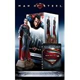 Man of Steel Blu-Ray Ultimate Collector's Steelbook Edition w/Superman Statue [Import]