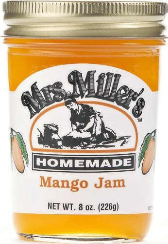 Mrs. Millers Mango Jam (Amish Made) ~ 2 / 8 Oz. Jars
