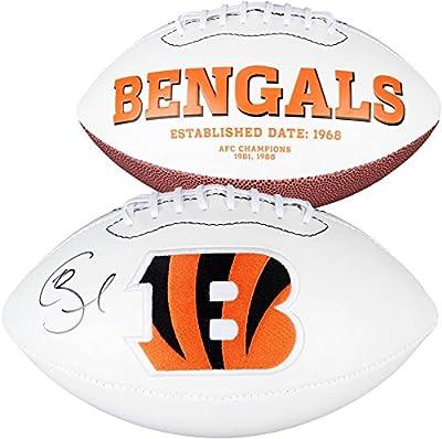 Giovani Bernard Cincinnati Bengals Autographed White Panel Football - Fanatics Authentic Certified - Autographed Footballs