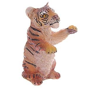 Amazon.com - Tiger Cub Standing on Hind Legs 8.5cm