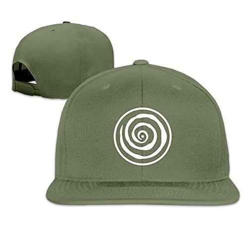 NUBIA Conscious Creation Symbol Custom Baseball Hat Snapback Flat Bill Hat ForestGreen