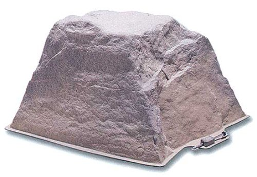 DekoRRa 106-FS Artificial Rock Fieldstone-Gray - Covers Electrical Outlets And Septic Cleanouts